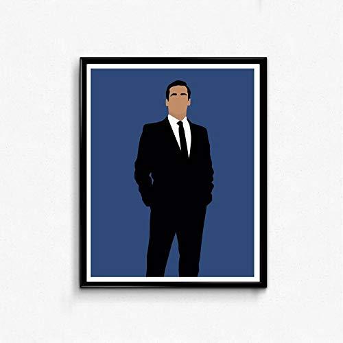 MugKD LLC Don Draper Mad Men Poster Funny Poster Gift for Men Woman [No Framed] Poster Home Art Wall Posters for $<!--$22.95-->