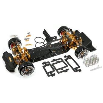イーグル模型 TT02-RWD V2 ドリフトGRTシャーシキット #TT02-RWDV2-GO B01LZ48WM4 GO GO