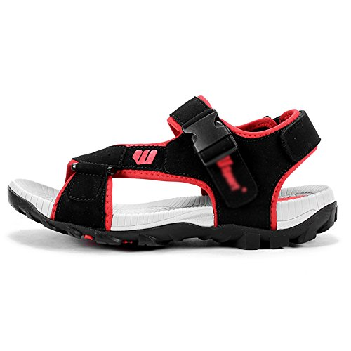 Sandals MAZHONG Men's Men's Summer Breathable Casual Sports Men's Beach Shoes (Color : Red-EU39/UK6/CN39) Red-eu42/Uk8.5/Cn43 hv5gE890