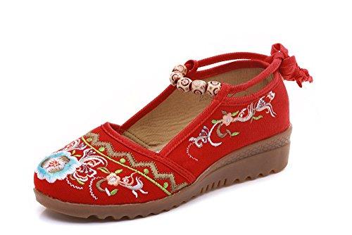 Lazutom Para Red Lona De Cordones Mujer Zapatos xxqZS4z