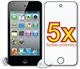 Apple iPod Touch 4th Generation Gen Premium Clear LCD Screen Protector Cover Guard Film, no cutting is required