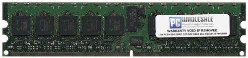 IBM 1GB PC2-4200 DDR2-533 1Rx4 ECC Registered RDIMM (IBM PN# 41Y2710) (Renewed)