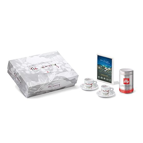 "ILLY ART COLLECTION - ""The Morning"" by Alanis Morissette - 2 Espresso Cups + DVD + 250 g tin of coffee - Gift Set Box by ILLY ART COLLECTION - ''The Morning'' by Alanis Morissette"