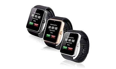 Amazon.com: GT08 Smart Watch Wrist Watch (Black): Electronics