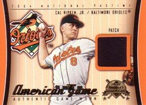 カルリプケンジュニア Cal Ripken 2004 Fleer American Game Patch (MLBカード) B0051T32JG