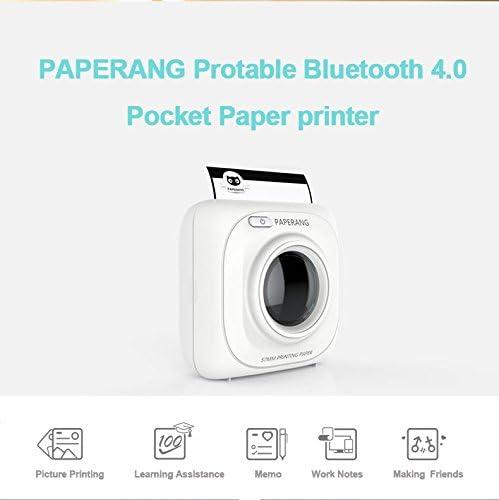 Amazon.com: paperang P1 impresora portátil Bluetooth 4.0 ...