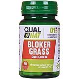Blocca grassi Bloker Grass - Blocca i grassi per controllare il peso in modo naturale - Integratore alimentare per cominciare a dimagrire accompagnato da una dieta sana - 30 capsule