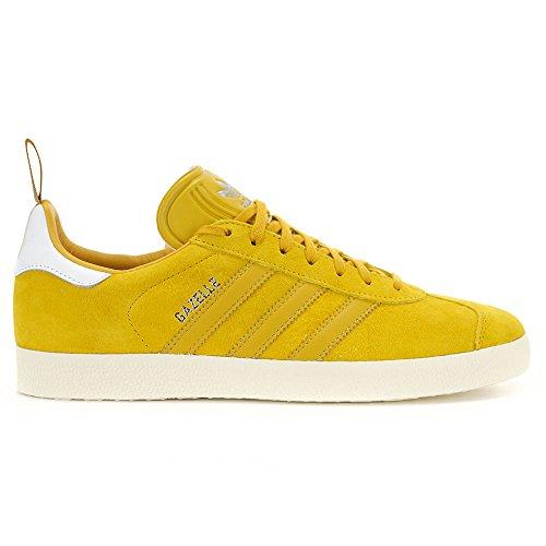 Adidas Hommes Cuir Dautruche Jaune Pack Chaussures Demballage S76223, 10.5