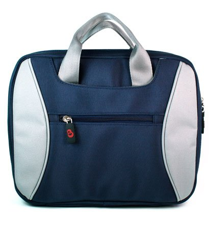 Fashion Nylon 2-tone Carrying Bag for Hp2133 Hp2140 Hp1030nr Mini Notebook (Blue), Bags Central