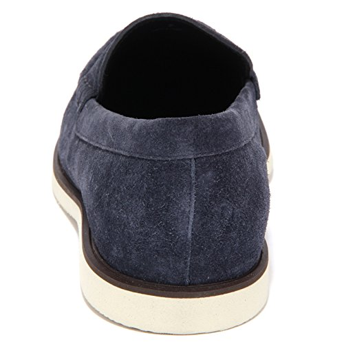 4374Q mocassino uomo HOGAN scarpa blu shoes loafer men Blu