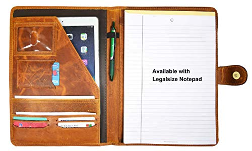 Leather Portfolio Organizer Planner by Aaron Leather