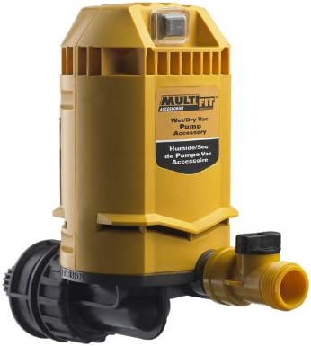 Multi-Fit Wet Dry Vac Water Pump MP2000 Shop Vacuum Pump Is A Wet Dry Vac Attachment for Shop Vacuums With A Drain