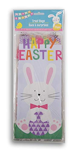 Easter Themed Loot Treat Bags - Happy Easter - 25 -