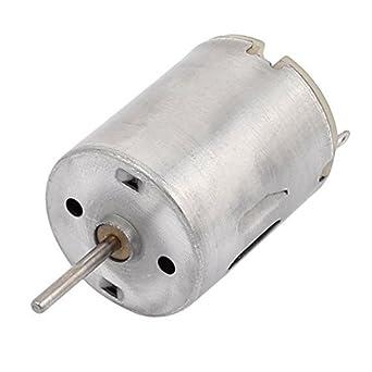 Salida DealMux CC 3-9V 14400RPM Forma velocidad del cilindro micro motor eléctrico para Secador de pelo: Amazon.es: Industria, empresas y ciencia