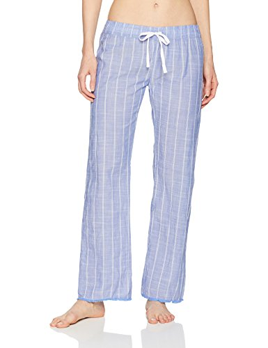 PJ Salvage Women's Open Leg Sleepwear Pajama Pant, Feelin' Blue Stripe, Small