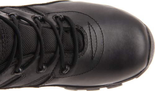Bates Mens Delta Side-zip 8 Pouces Botte Uniforme Noir