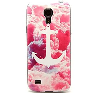 HJZ Colorful Anchor Pattern Hard Plastic Cases for Samsung Galaxy S4 mini I9190