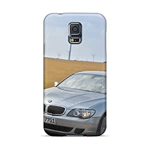 Hot Fashion BOV89zKPU Design Case Cover For Galaxy S5 Protective Case (bmw 7 Series Hydrogen Front Angle)
