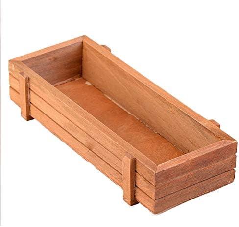 Caja de madera para plantas, 1 caja de madera para plantas ...