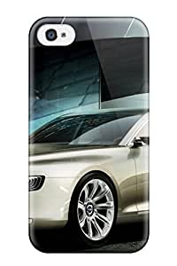 For SaundraVillard Iphone Protective Case, High Quality For Iphone 4/4s 2011 Volvo Universe Concept Skin Case Cover