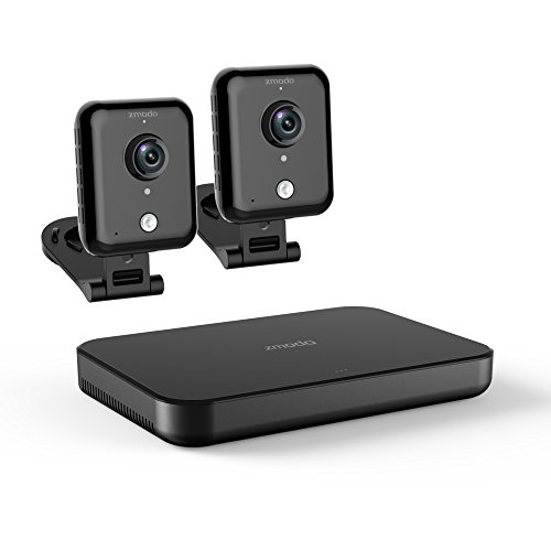 Zmodo Replay - HD WiFi Security System with 2 Indoor Cameras