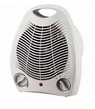 Caldobagno Termoventilatore Stufa Elettrica Ventilata 2 Potenze Con