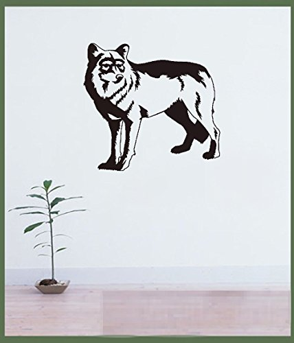 Sudden Shadows Wall Stickers - mnbll House Wall Decor Stickers Wolf Sudden Shadow Home décor