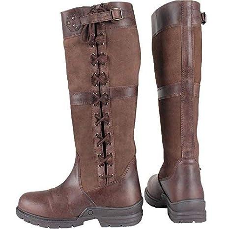Horka Midland adultos impermeable paí s caminando caballo invierno al aire libre piel botas tamañ o 3 –  12
