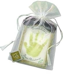 The Grandparent Gift Co. Holiday First Christmas Handprint Keepsake, Grandchild\'s