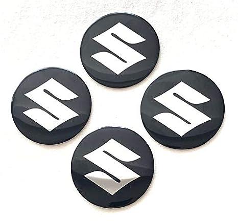 Suzuki Emblem Wheel Center Cap Sticker Logo Badge Wheel Trim 55mm