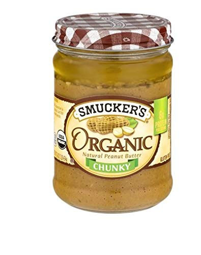 Smucker's Organic Natural Peanut Butter-chunky (Natural Chunky) ()