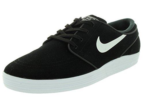Nike Herren 654857 Knöchelhoher Skateboardschuh Schwarz