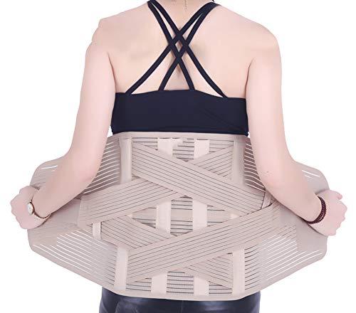 (Belt Belt Lumbar Intervertebral Disc Men and Women Four Seasons Lumbar Disc Strain Prominent Medical Fever Warm Waist Support Waist)