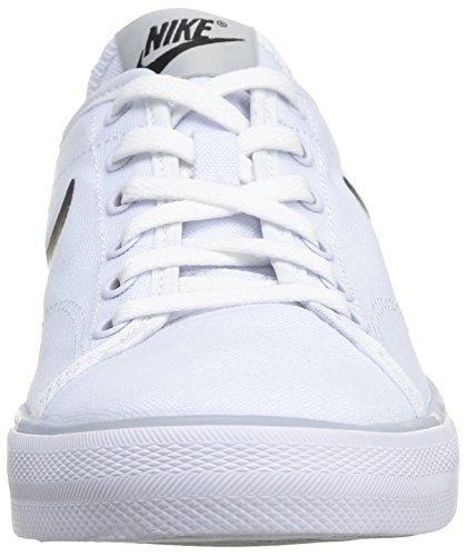 Black white barely Women's white Canvas black grey Nike Primo Wmns White barely Court Shoes Tennis white Grey 1zdqaOx