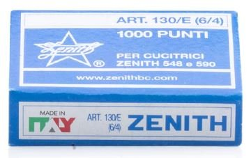 Zenith 130/E 5/32'' Light Wire Staple (For 548/E Staplers) 20 Boxes of 1,000 by Zenith