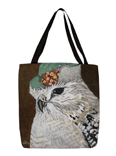 Thumbprintz Shopping Tote, 13-Inch, You Silly Bird Amy