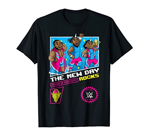 WWE The New Day 8-Bit Graphic T-Shirt -