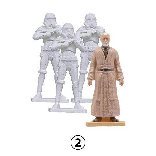 Capsule Toy Star Wars Bandai 1/72 Scale Model Series 01 Mini Figure Collection, Design - Figures Wars Game Mini Star