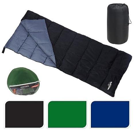 Redcliff - Saco de dormir (* Verde/Gris * - 200 x 85 cm: Amazon.es: Deportes y aire libre
