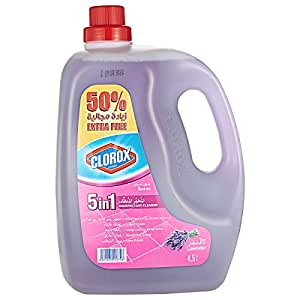 Clorox 5 in 1 Disinfectant Lavender Cleaner - 4.5 Liter