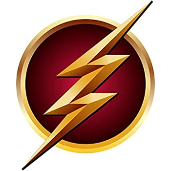 The flash logo decal wall sticker home decor art flash gordon c492 large