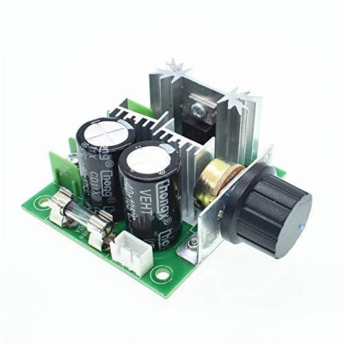 DC 12V 24V 30V 40V 13KHZ Auto PWM DC Motor Speed Regulator Governor Speed Controller Switch 10A 50V 1000uF