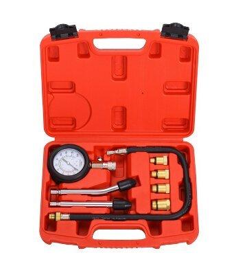 SLPRO/® Kompressionsmesser Kompressionstester Kompressionspr/üfer Testger/ät Benzinmotor 0-20 bar oder 0-300 psi Verdichtungsmesser