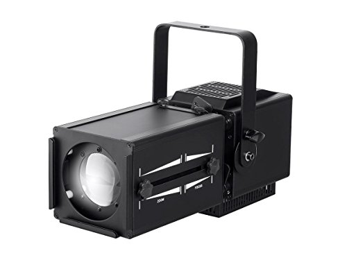 Stage Right 60W COB LED Ellipsoidal with Manual Zoom (3200k, 13°-35° beam angle) by Monoprice