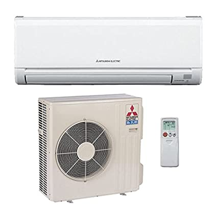 36,000 Btu 16 Seer Mitsubishi Single Zone Ductless Mini Split Air  Conditioning System