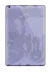 Ipad Mini/mini 2 Cover Case - Eco-friendly Packaging(puppy Grunge Grungesdecorativenaturepuppy Animal Dog)