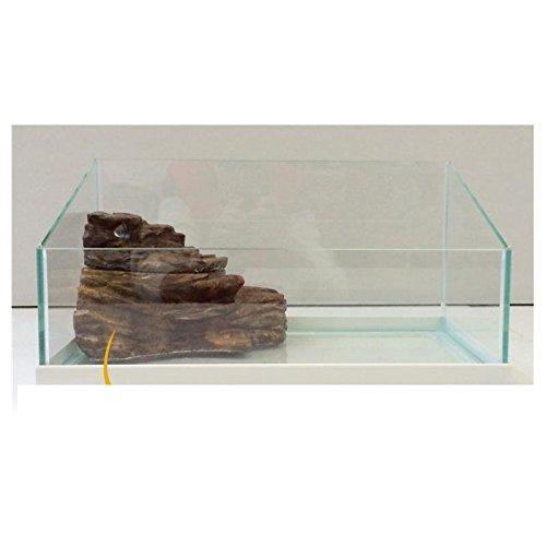 Tortuga deluxe casa rifugio per tartarughe di terra for Tartarughiera grande vetro