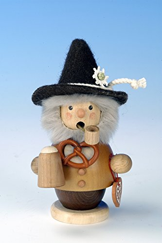 German Incense Smoker Bavarian natural colors - 14cm / 6 inch - Christian Ulbricht