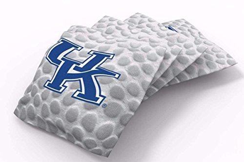 - PROLINE 6x6 NCAA College Kentucky Wildcats Cornhole Bean Bags - Pigskin Design (B)