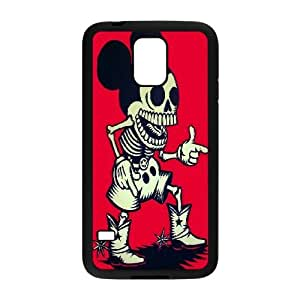 Samsung Galaxy S5 Cell Phone Case Black Disney Mickey Mouse Minnie Mouse AFT824502